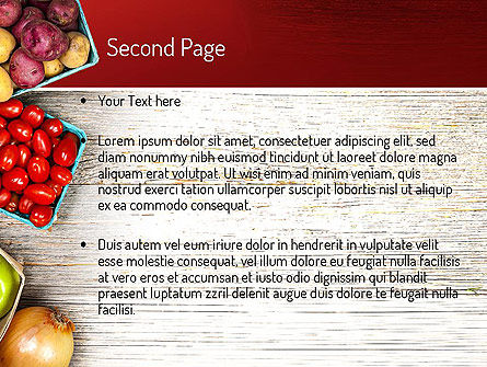 Fruit and Veg PowerPoint Template Slide 2