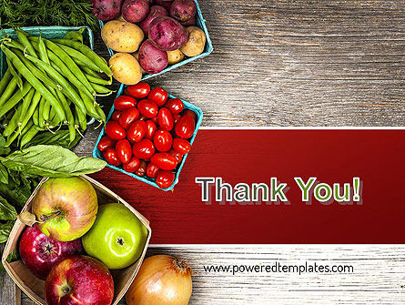 Fruit and Veg PowerPoint Template Slide 20
