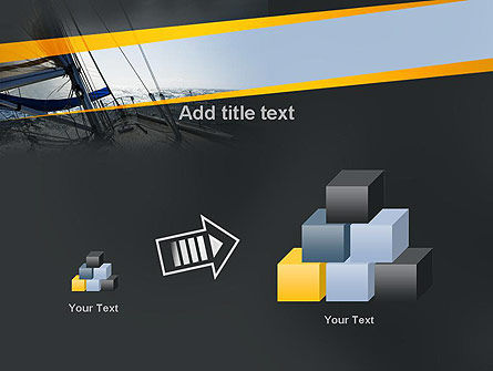 The Bow of a Boat PowerPoint Template Slide 13