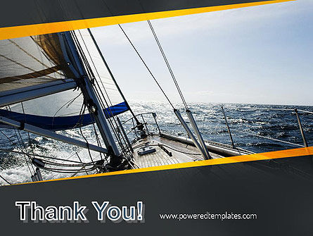 The Bow of a Boat PowerPoint Template Slide 20