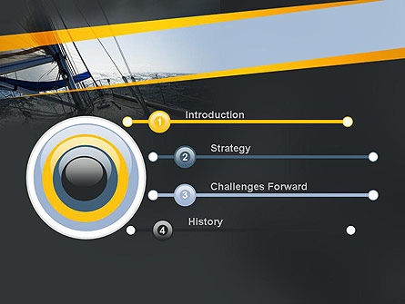 The Bow of a Boat PowerPoint Template, Slide 3, 11254, Careers/Industry — PoweredTemplate.com