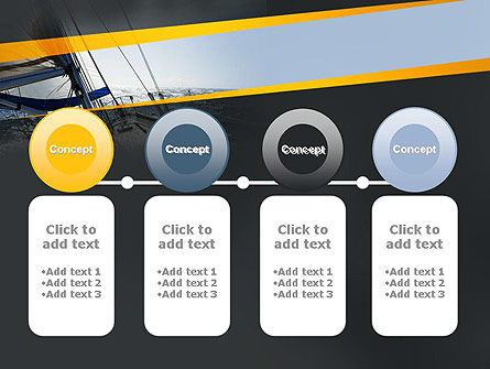 The Bow of a Boat PowerPoint Template Slide 5