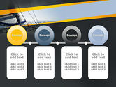 The Bow of a Boat PowerPoint Template#5