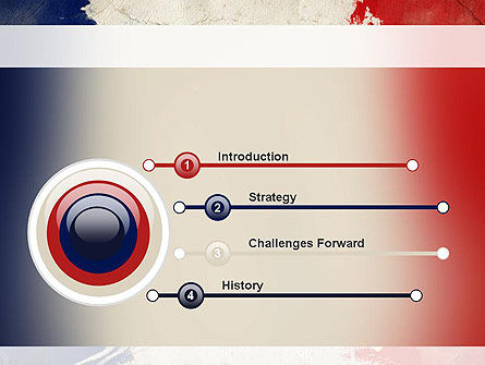 France Presentation PowerPoint Template, Slide 3, 11256, Flags/International — PoweredTemplate.com