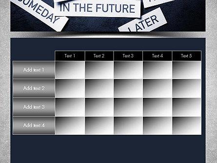 Stop Procrastinating PowerPoint Template Slide 15