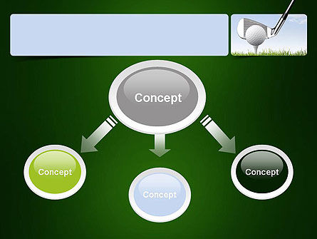 Golf Tournament PowerPoint Template, Slide 4, 11259, Sports — PoweredTemplate.com