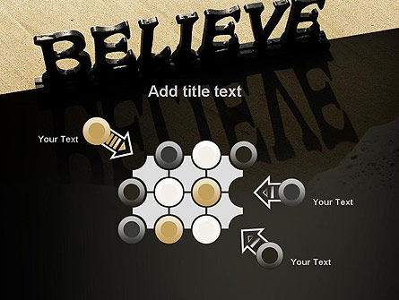Believe PowerPoint Template Slide 10