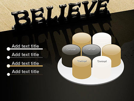 Believe PowerPoint Template Slide 12