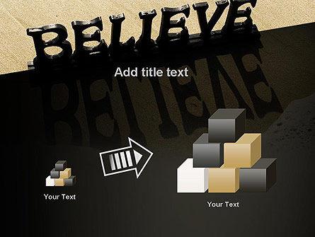 Believe PowerPoint Template Slide 13
