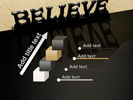 Believe PowerPoint Template Slide 14