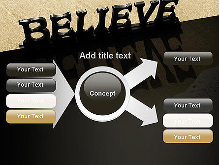 Believe PowerPoint Template Slide 15