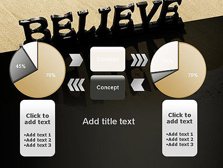 Believe PowerPoint Template Slide 16