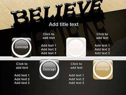 Believe PowerPoint Template Slide 18