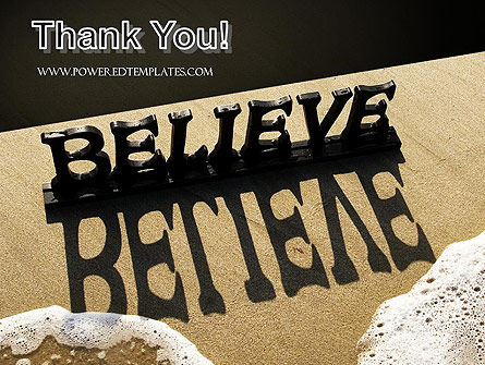 Believe PowerPoint Template Slide 20