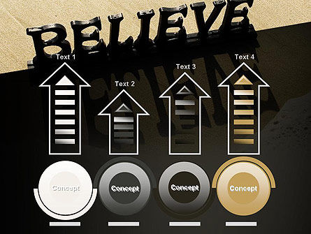 Believe PowerPoint Template Slide 7
