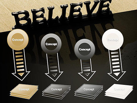 Believe PowerPoint Template Slide 8