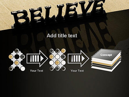 Believe PowerPoint Template Slide 9