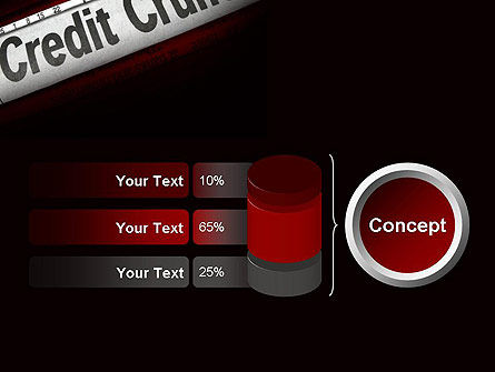 Credit Crunch Headline PowerPoint Template Slide 11