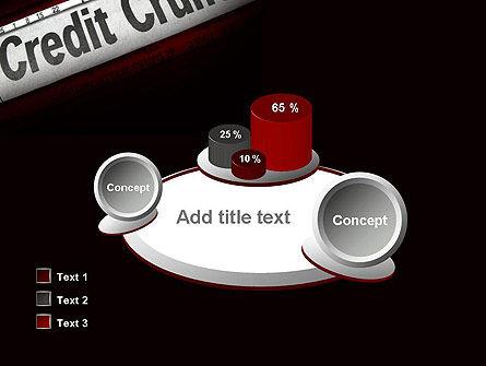 Credit Crunch Headline PowerPoint Template Slide 16