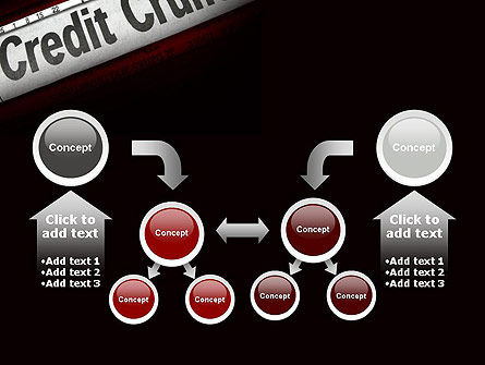 Credit Crunch Headline PowerPoint Template Slide 19