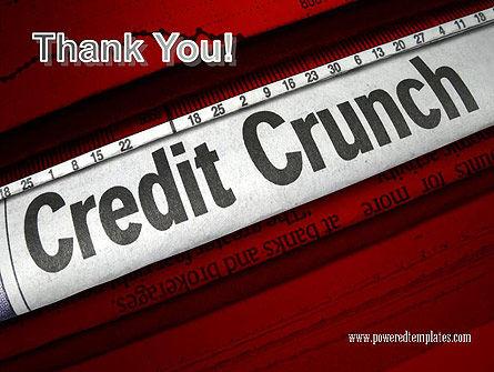 Credit Crunch Headline PowerPoint Template Slide 20