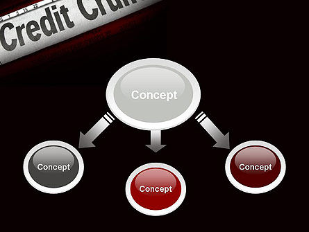 Credit Crunch Headline PowerPoint Template, Slide 4, 11263, Financial/Accounting — PoweredTemplate.com