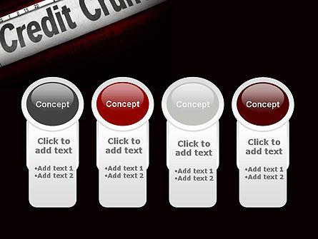 Credit Crunch Headline PowerPoint Template Slide 5
