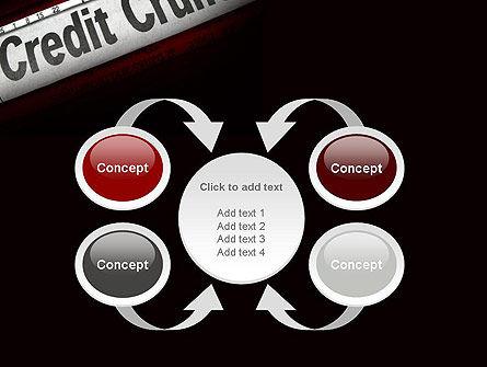 Credit Crunch Headline PowerPoint Template Slide 6