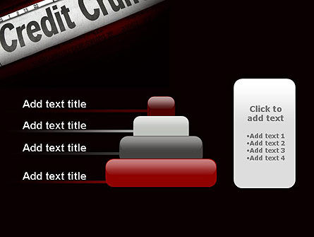 Credit Crunch Headline PowerPoint Template Slide 8