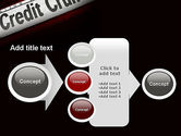 Credit Crunch Headline PowerPoint Template#17