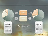 Open Bible with Light Rays PowerPoint Template#16