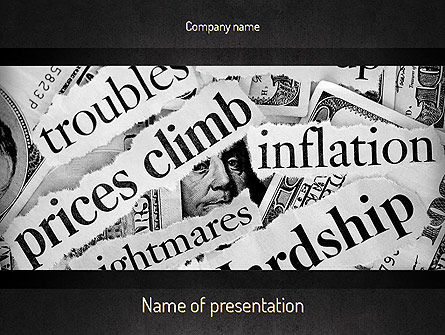 Great Recession PowerPoint Template