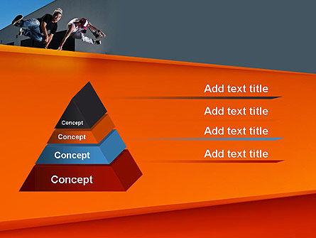 Parkour PowerPoint Template, Slide 4, 11268, Sports — PoweredTemplate.com