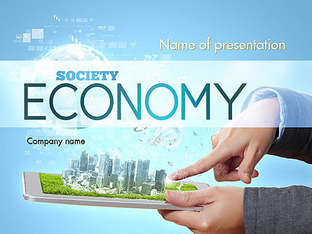 Technology and Science: Smart City PowerPoint Template #11269
