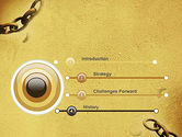 He Will Break Every Chain PowerPoint Template#3