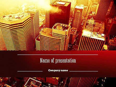 Construction: Seattle PowerPoint Template #11275