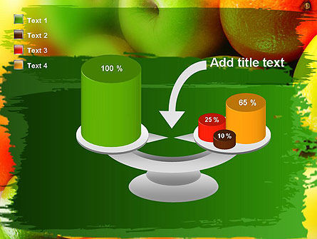 Vivid Fruits PowerPoint Template Slide 10