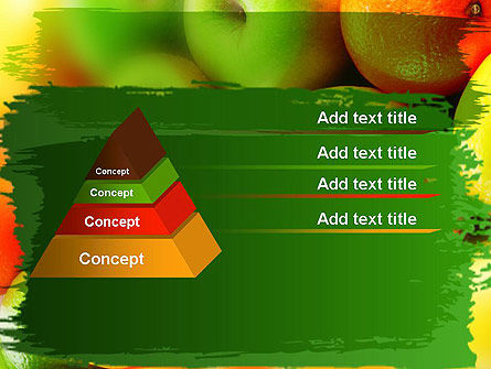 Vivid Fruits PowerPoint Template Slide 12