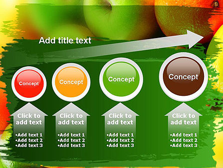 Vivid Fruits PowerPoint Template Slide 13