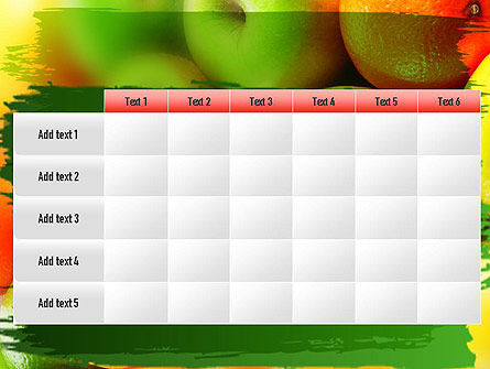 Vivid Fruits PowerPoint Template Slide 15