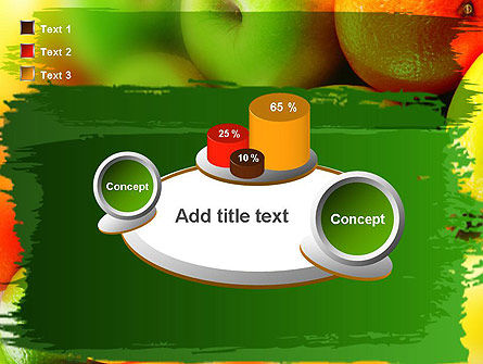 Vivid Fruits PowerPoint Template Slide 16