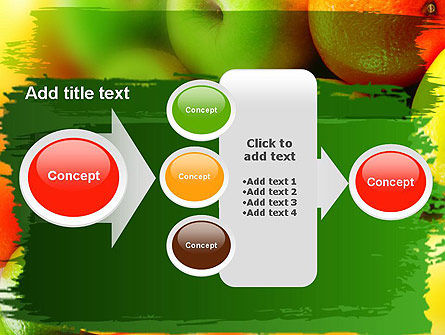 Vivid Fruits PowerPoint Template Slide 17