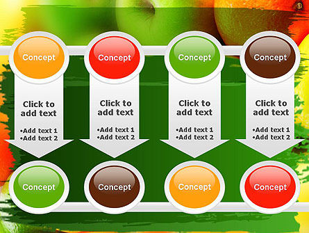 Vivid Fruits PowerPoint Template Slide 18