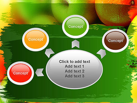 Vivid Fruits PowerPoint Template Slide 7