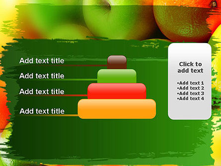 Vivid Fruits PowerPoint Template Slide 8