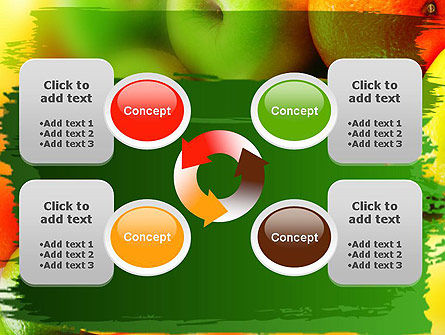 Vivid Fruits PowerPoint Template Slide 9