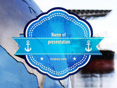 Cars and Transportation: Shipping Company PowerPoint Template #11280
