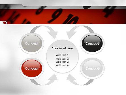 Events Calendar PowerPoint Template Slide 6