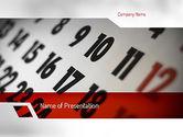 Careers/Industry: 活动日历PowerPoint模板 #11281
