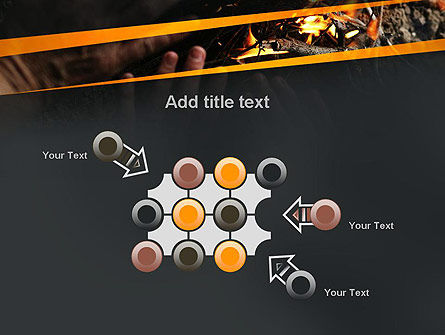 Bonfire Warmth PowerPoint Template Slide 10